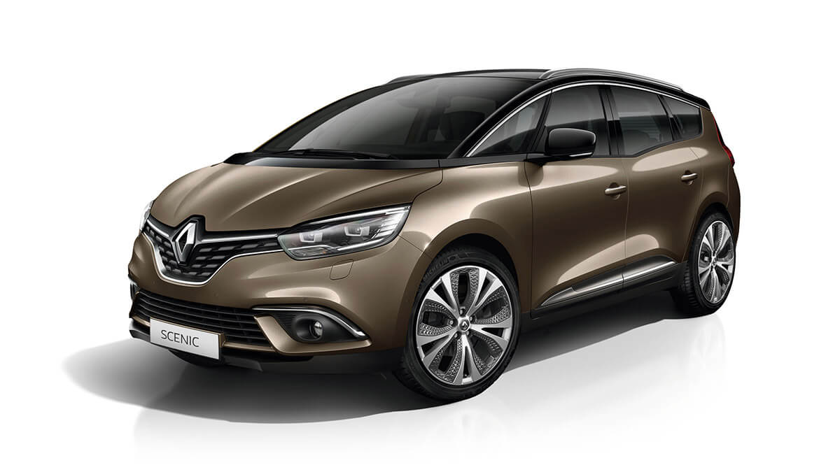 Renault GRAND SCENIC – Rouge Millesime